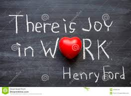 joy in work stock photo image of symbol statement education