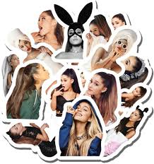 Amazon Com 20 Pcs Stickers Pack Ariana Aesthetic Grande Vinyl Colorful Waterproof For Water Bottle Laptop Scrapbooking Luggage Guitar Skateboard Home Kitchen