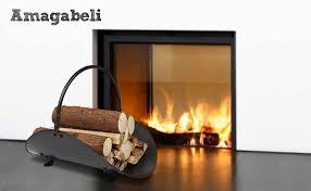 amagabeli fireplace log holder indoor