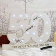 50th birthday gift pocket watch