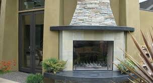 prefab outdoor fireplace kit modular