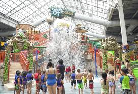 kalahari waterpark and hotel plex in