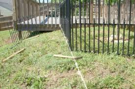 How To Install Empire Fencing From Lowe S Dengarden Home And Garden