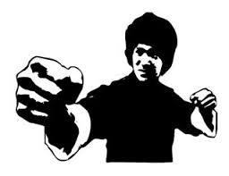 Bruce Lee V1 Decal Sticker