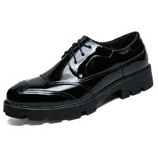 mens casual leather shoes light soles