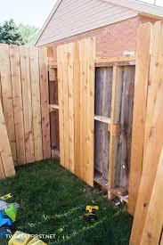 Install Cedar Pickets On A Fence