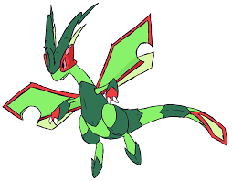 with all the Mega Flygon hype I figured I'd color my old sketch.... :  pokemon