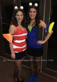 coolest homemade finding nemo costumes