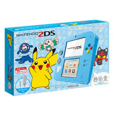 Nintendo 2DS Pokémon Sun & Moon Blue, Japan đã hack