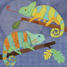 Chameleon Pals Wall Art