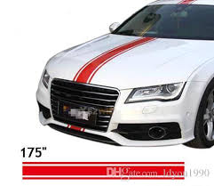 2020 450 15cm Roll 175 Car Styling Hood Roof Tail Decal Car Vinyl Decals Stickers Racing Stripes Stickers For All Cars From Ldyou1990 33 76 Dhgate Com