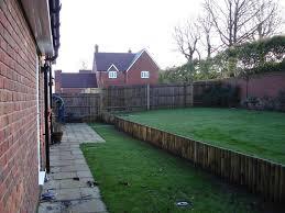 decking on sloped garden garden ftempo
