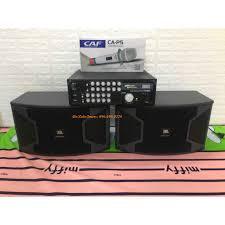 Bộ dàn Karaoke Nghe nhạc Gia đình Gồm Âm ly Jarguar Suhyoung PA600A + Đôi  loa JBL KS 310 + Micro CAF P6