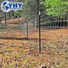 China 8 Ft Electro Galvanized Woven Wire Deer And Wildlife Fence China Deer Blocker Fence Field Fence