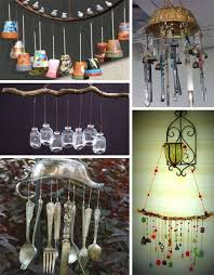 tons of ideas for wind chimes made from