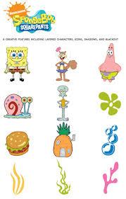 Cricut Sponge Bob Squarepants Shape Cartridge Bob Esponja Fiesta