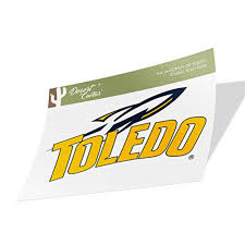 University Of Toledo Ut Rockets Ncaa Vinyl Decal Laptop Water Bottle Car Scrapbook Sticker 00016 Walmart Com Walmart Com