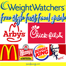 weight watchers fast food freestyle
