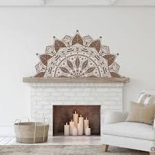 The Francis Mandala Wall Decal