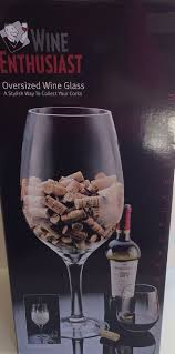 wine enthusiast oversized wine glass
