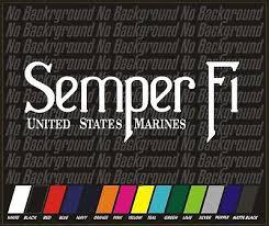 Distressed Flag Usmc Semper Fi Marine Corps Vinyl Decal Sticker Car Truck Window Auto Parts And Vehicles Car Truck Graphics Decals Magenta Cl