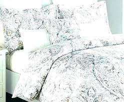 paisley duvet cover queen miller home