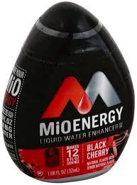 mio energy black cherry liquid water
