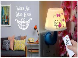 Buy Remote Night Light Led Adjustable Light Alice In Wonderland Wall Decal Quote Cheshire Cat Saying Kikuu Cote D Ivoire