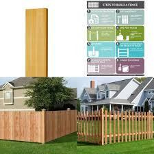 Fence Gate 3 5 Ft Western Red Cedar Flat Top Vertical Lattice Natural Best For Sale Online Ebay