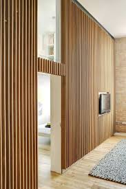 wood slat wall timber walls interior