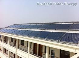 china apartment building solar energy