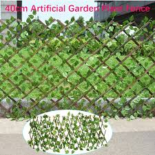 40cm Artificial Garden Plant Fence Uv Protected Privacy Screen Outdoor Indoor Use Garden Fence Backyard Home Decor Greenery Wall Lazada Ph