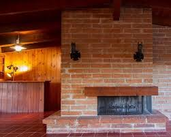 how to clean your brick fireplaces