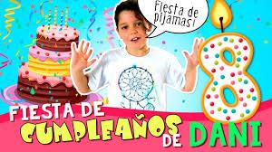 Mi Fiesta De Cumpleanos Fiesta De Pijamas De Daniela