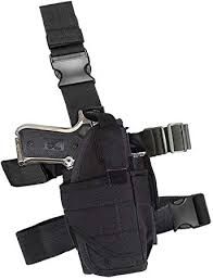 molle tactical pistol thigh holster