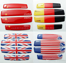 Wholesale Aluminum Italy England Usa American Germany Flag Emblem Chrome Car Decal Sticker Car Styling Door Sticker Logos Of Cars Logos On Cars From Violet6liu 95 48 Dhgate Com