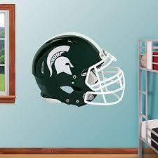 Spartan Football Helmet Fathead Wall Graphic