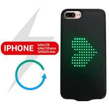 Ốp lưng đèn Led iPhone 6-7-8-X-XS-Max