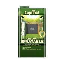 Cuprinol One Coat Sprayable Fence Treatment 5l Silver Corpse 5355975 For Sale Online Ebay