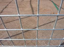 Welded Wire Mesh Panel 8ft X 4ft 1 Holes 12 Gauge Animal Enclosures Metal Security Cages