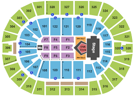 bok center seating chart gallery of