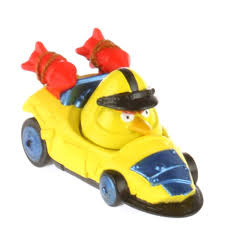 Angry Birds Go! Telepods Chuck & Mega Rocket Yellow Bird Kart ...