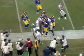 After final whistle, Rams Aaron Donald confronted Seahawks Justin ...