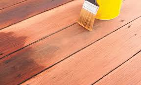 How To Stain And Finish Timber