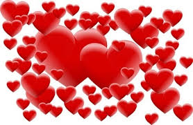 valentines hearts images free vector