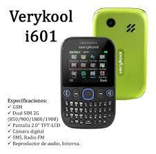 Teléfono Celular Barato Verykool I601 ...