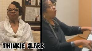 "Twinkie Clark shares her love and thoughts, and sings, ""Pray For The USA"" -"