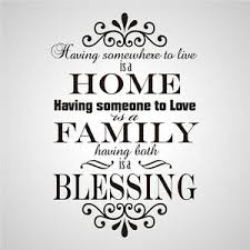 Wall Stickers Home Family Blessing Removable Nursery Vinyl Decal Art Mural Decor Ebay