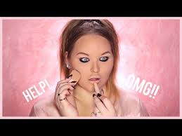 how i did my makeup in high