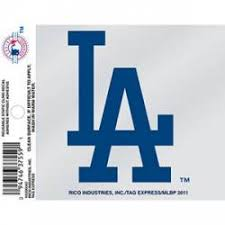 Los Angeles Dodgers Stickers Decals Bumper Stickers
